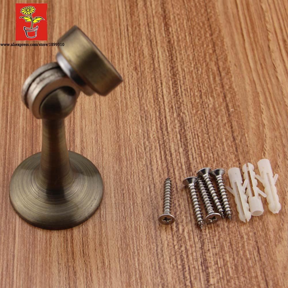 Perfect Brass Antique Brass Industrial Door Magnetic Catch Door Stopper Wall Door  Stop Magnetic Door Holder In Door Stops From Home Improvement On  Aliexpress.com ...