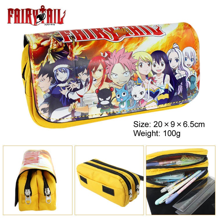 Game king, pen bag YU - GI - OH! Double zipper student supplies wholesale stationery pencil case purse Cosmetic Bags & Cases