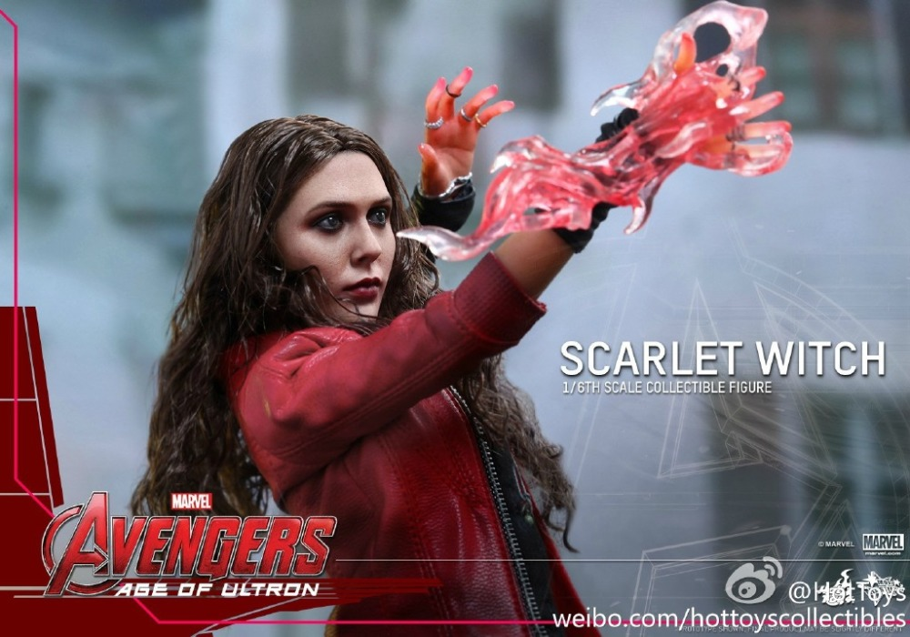 1/6 scale figure doll Avengers: Age of Ultron Scarlet Witch.12 action figures doll.Collectible figure model toy gift 1 6 scale figure captain america civil war or avengers ii scarlet witch 12 action figure doll collectible model plastic toy