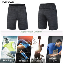 2019 Men's Running Sport Shorts Men Professional Bodybuilding Training Quick Dry Gym Fitness Short Pants Gasp Big Size Bottom(China)