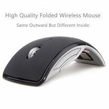 Gampad gamepads bluetooth mouse 1200 dpi do mouse gamer sem fio Folding mouse sem fio Receptor USB para computador portátil dropshipping