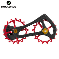 ROCKBROS Cycling Carbon Fiber Road Bike Bicycle Rear Derailleur Pulleys Wheel 11 Speed For Shimano 4600 4700 5700 5800 105 Group