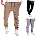 Men's Fashion Casual Elastic Drawstring Pants Baggy Sweatpants Harem Trousers Store 50