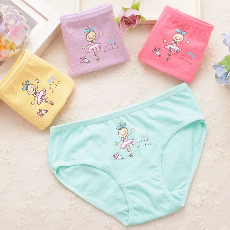 2016 Roupas Infantis Menina 4pcs/lot Baby Girl Underwear Kids Panties Child's For Shorts For Nurseries Children's Briefs C1082