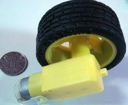 Бесплатная доставка DC мотор одного AXIe двигатель постоянного тока с колеса