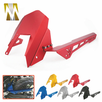 CNC Aluminum Accessories For Yamaha MT07 2013 2017 FZ07 2015 2017 Motorcycle Mudguard Fender Chain Cover Guard Rear Tire Hugger