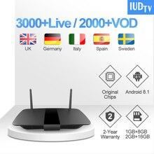 IPTV Subscription Leadcool Q1504 1 Year IUDTV UK Swedish Code Android TV Box Turkish Arabic Germany Greece India Italy