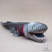 Real Life Plush Stuffed Animals Toys Quasi Eel Shark Doll Deep Sea Animals Frilled Shark Children Birthday Present