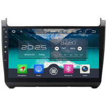 "Octa Core 4GB RAM 32GB ROM Android 6.0.1 Double 2 din 10.1"" touch screen Multimedia Car GPS DVD Player For Volkswagen Polo 2015"