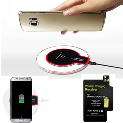 For Samsung Galaxy S5 Qi Wireless Charging Kit S5 Wireless Charger Receiver for Galaxy S 5 I9600 G900 G900S G900I G900F G900H