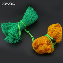 Lawaia Fishing Net Bag Thick Wire Mesh Bag Weaving Wire Fish Protection Fast Food Bag Folded Thick Fish Net Fishing Tools Carp цена и фото