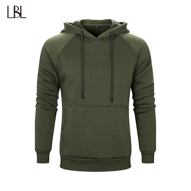 Russia Size Casual Hoodies Men Hip Hop Streetwear Solid Hoody Hooded Brand Clothing Mans ...