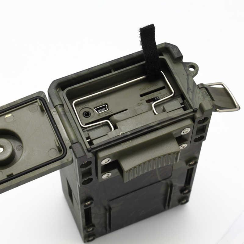 (1 комплект) 12MP дикая цифровая инфракрасная фотоловушка с 1080 P HD видео зажимами Высокочувствительный пассивный инфракрасный (PIR) датчик движения