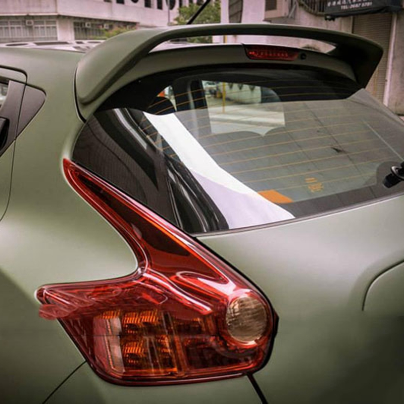For Nissan Juke Spoiler High Quality ABS Material Car Rear Wing Primer Color Rear Spoiler For Nissan Juke Spoiler 2010-2015 for lancer spoiler evo abs material car rear wing primer color rear spoiler for mitsubishi lancer evo spoiler 2010 2014