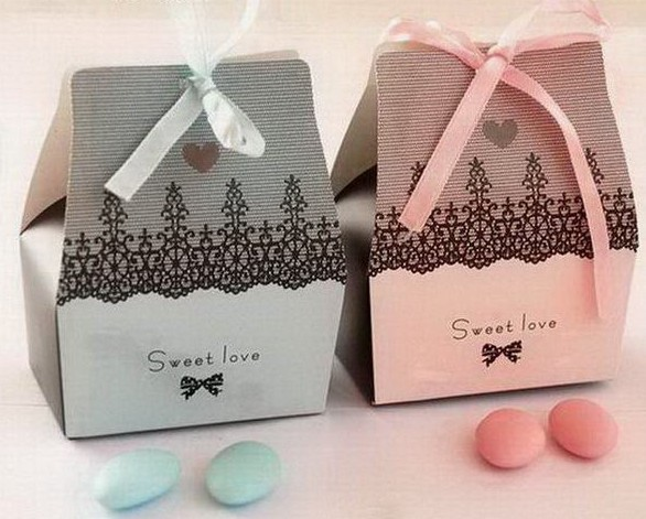 Free shipping 200pcs/lot Candy box sweet box gift box, Favour boxes,  L9.5cm * W8cm * H4.5cm,MG05
