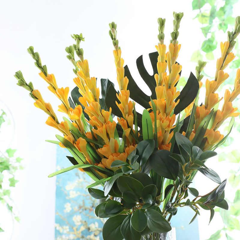 Buatan Bunga Sedap Malam Bunga Cabang Sutra Sentuhan Nyata Bunga Palsu Dekorasi Rumah Aksesori Flores Artificiales Valentine S Day Hari Valentine Hadiah Buatan Bunga Kering Aliexpress