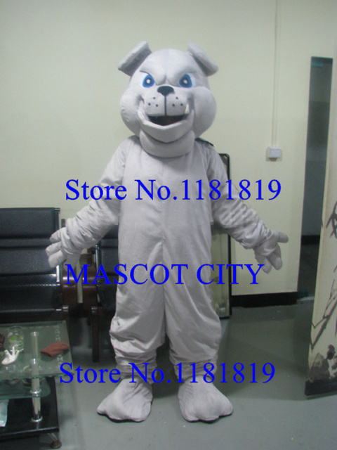 MASCOT adult bulldog mascot Costume for sale grey bulldog anime cosplay costumes mascotte fancy dress carnival & MASCOT adult bulldog mascot Costume for sale grey bulldog anime ...