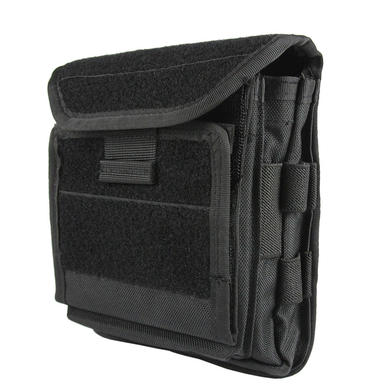 Compact Water-resistant EDC Pouch Tactical Organizer Easy Carrying MOLLE for Backpack or Vest Hunting Mag Bag Waist Pack