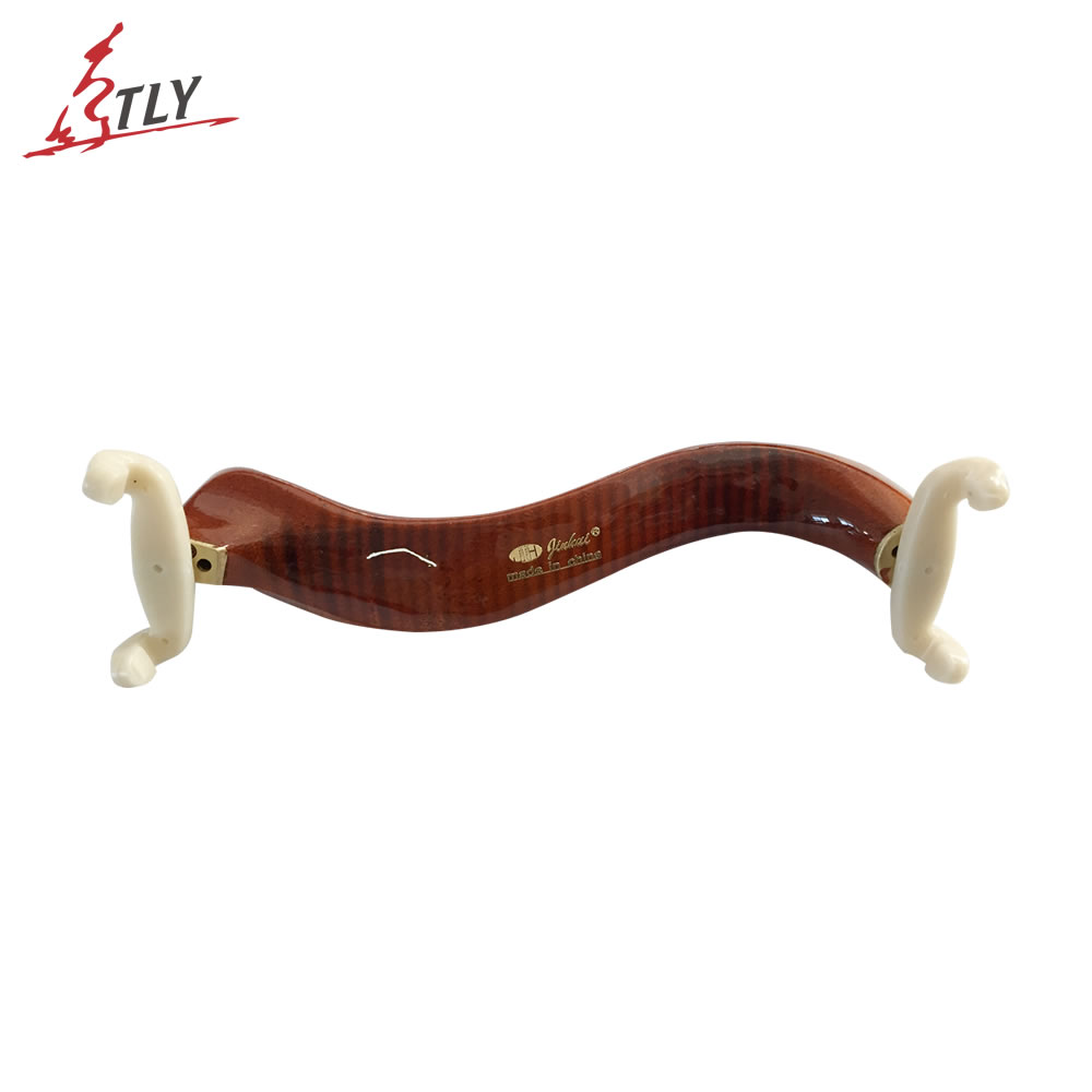 TONGLING Oil Varnish Flamed Maple Wood Viola Shoulder Rest Adjustable Shoulder Pad Viola Accessories Free Shipping 15-16.5 Inch
