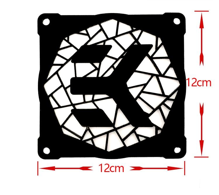 12 sm pərəstişkarları üçün MOD DIY 12cm X 12cm Fan Cover - Kompüter hissələri - Fotoqrafiya 6