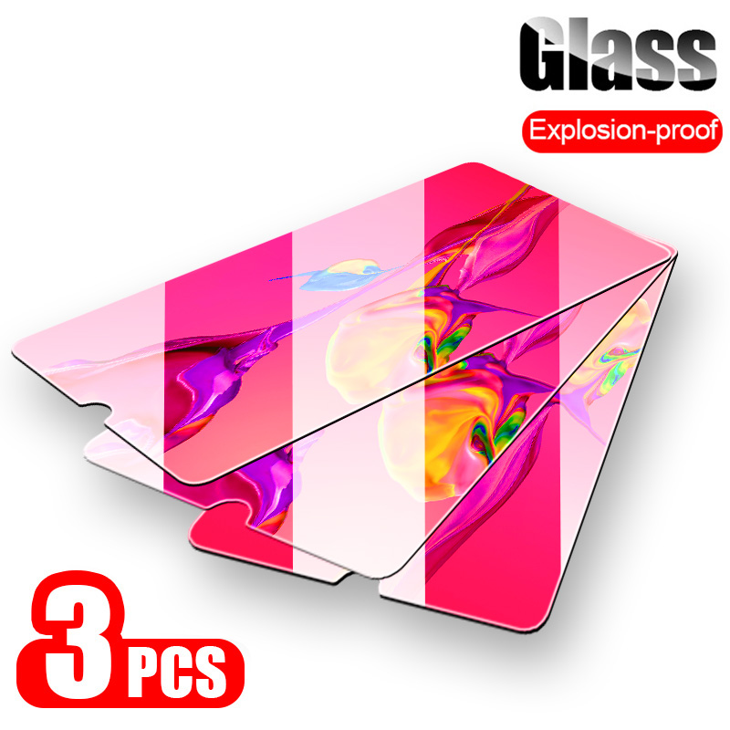 3-1Pcs Cover Protective Glass For Huawei P20 Pro P30 Lite P10 Plus  Lite Screen Protector For Huawei Mate 20 Lite Tempered Glass