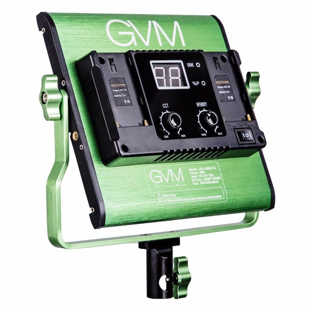 Gvm Photo Studio Led Ring Light: GVM Bi Color LED Video Light For Studio, YouTube