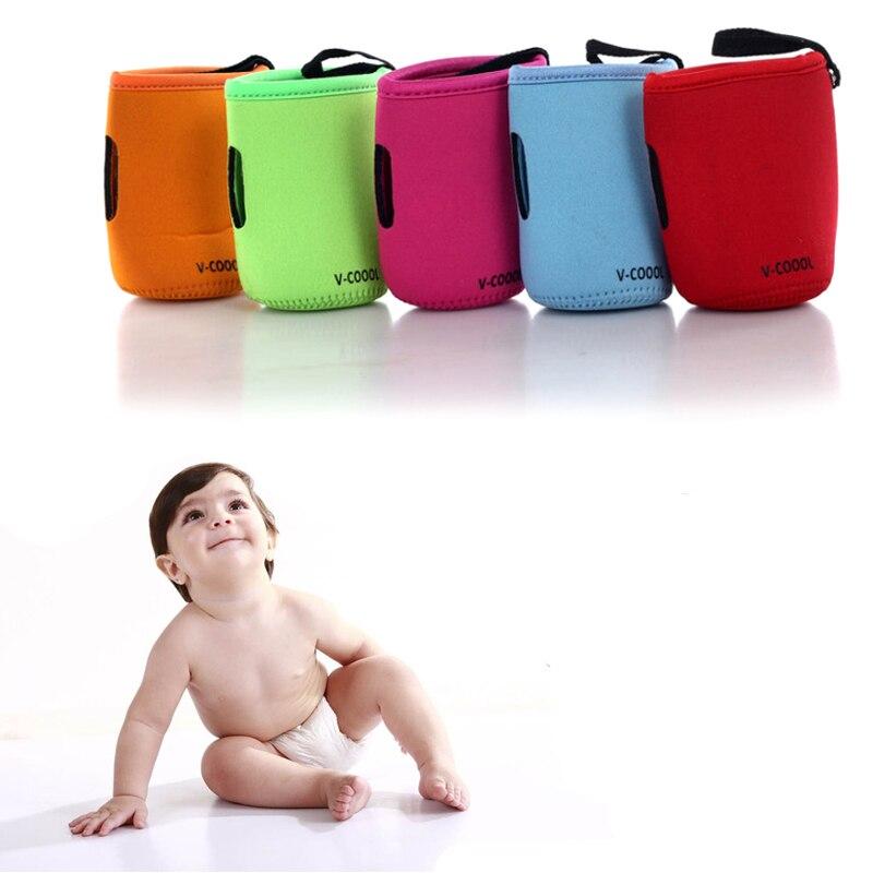 Baby Stroller Pram Feeding Bottle Warmer Holder with Clip Large Size 10 x 14 CM