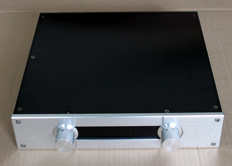 YJ WA50 all aluminum power amplifier chassis Amp chassis aluminium chassis diy amplifier chassis aluminium case amplifier queenway audio bz2012rkv aluminium amplifier chassis multi amplifier case 202mm 143mm 362mm 202 143 362mm