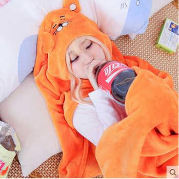 Himouto Umaru-chan Cloak Cosplay Umaru chan Home Wear Cosplay Soft Flannel Robe Blanket High Quality Pajamas Costume For Girls