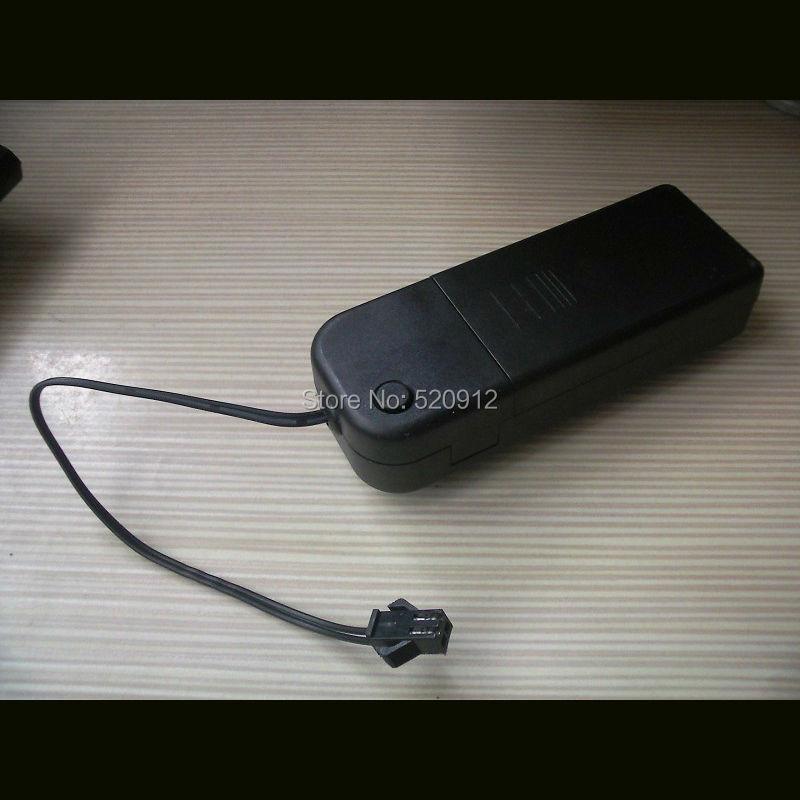 60 шт./лот Портативный 2xAA Батарея strobe или непрерывной драйвер/инвертор для 1-5 м el Провода и под 150 квадратных el панели