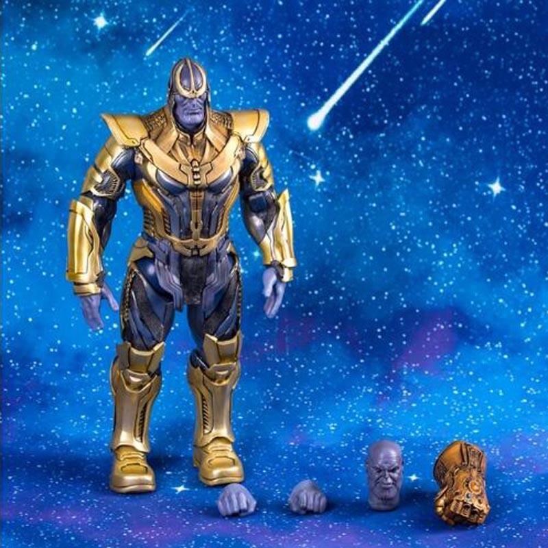 13 Marvel Hot Jouets Gardiens de La Galaxie Thanos 1/6 Échelle Figurines Jouet Poupée Brinquedos Figurals Collection Modèle Cadeau