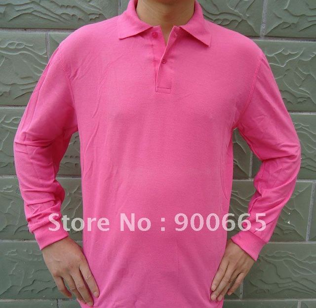 CUSTOME PRINT FULL SLEEVE-SHIRT PROMOTION t shirt, OEM TEXT PICTURE print/ embrodiery