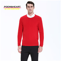 Nate Hakuna 2017 New Autumn Winter 100% Cashmere Men Sweater O Neck Pullovers Full Sleeve Pure Color Men Knitwear Sweaters