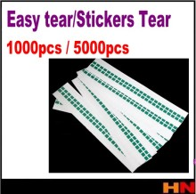 1000pcs 5000pcs PULL TAPE Easy tear stickers Tear OCA Laminator machine Polarizing film Tear film tape Protective film