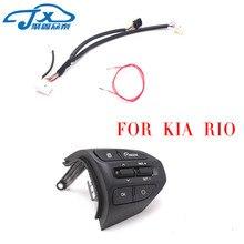Jxzt кнопку руль для KIA K2 Рио 2017 2018 Рио X линии пуговиц Bluetooth телефон круиз Управление объем