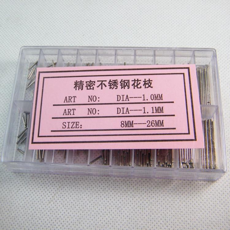Watch Bracelet Pin Friction Bar Assortment Of 300pcs 8 To 26mm NEW