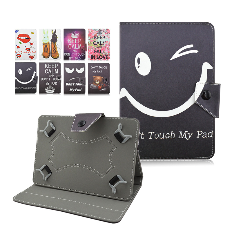 For Explay Surfer 10.11 10.1 inch Tablet PC funda tablet 10 universal Cartoon Printed Flip PU Leather Case Cover+flim+pen KF492A funda tablet 10 universal tablet cases flip stand pu leather case cover for explay discovery 10 1 inch center film pen kf492a