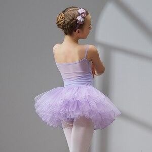 Image 5 - ชุดบัลเล่ต์เต้นรำชุด Tutu สำหรับสาวเด็กเด็กคุณภาพสูงแขนสั้น Tulle เต้นรำ