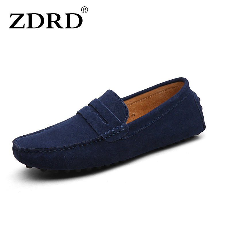 ZDRD 2017 Brand New Fashion Summer Spring Men Driving Shoes Loafers Real Leather Boat Shoes Breathable Male Casual Flats Loafers 2016 new style summer casual men shoes top brand fashion breathable flats nice leather soft shoes for men hot selling driving