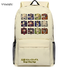 Anime Bungou Stray Dogs Backpack College Student School Rucksack Book Bags for Teenagers Casual Travel Daypack Mochila