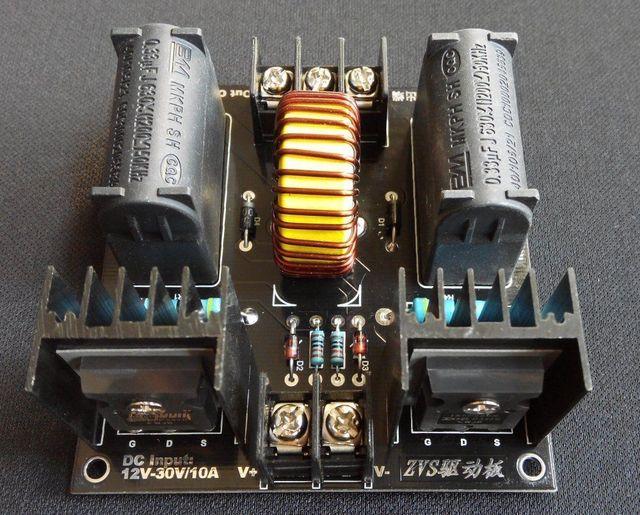 Bobina de Tesla ZVS motorista board/gerador Marx/escada de Jacob de alta Tensão de Alimentação DC 12 V 24 V 19 V