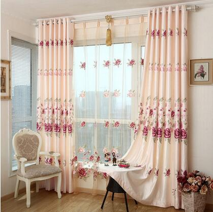 Fyfuyoufy european style aesthetic embroidery curtains - European style curtains for living room ...