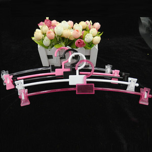[Free shipping] Colorful Plastic Hanger with Clips for Bra, Lingerie Hanger, Underwear Hanger (20 Pieces/Lot)