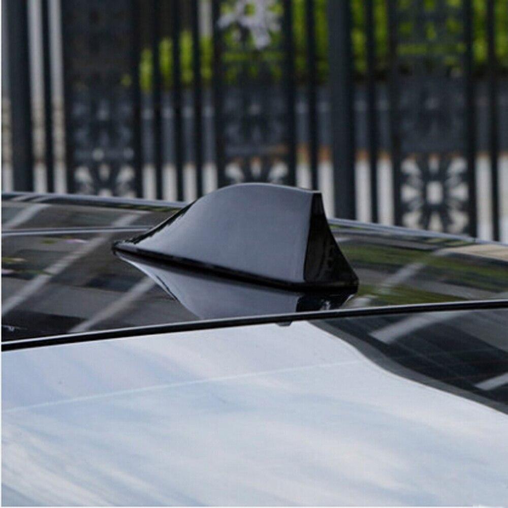 for Toyota Corolla Avensis Auris for RAV-4 Verso Yaris Auto Shark Fin Antenna Auto con Blank Segnale Radio Antenas Aerea Autoadesivo di 3M Color : Black CH