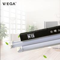 WEGA T8 LED Plant Lamp Tube Energy Saving Lamp Support Lamp 9W/18W 110lm T5 Full Set Solar Lamp Tube Indoor White Light