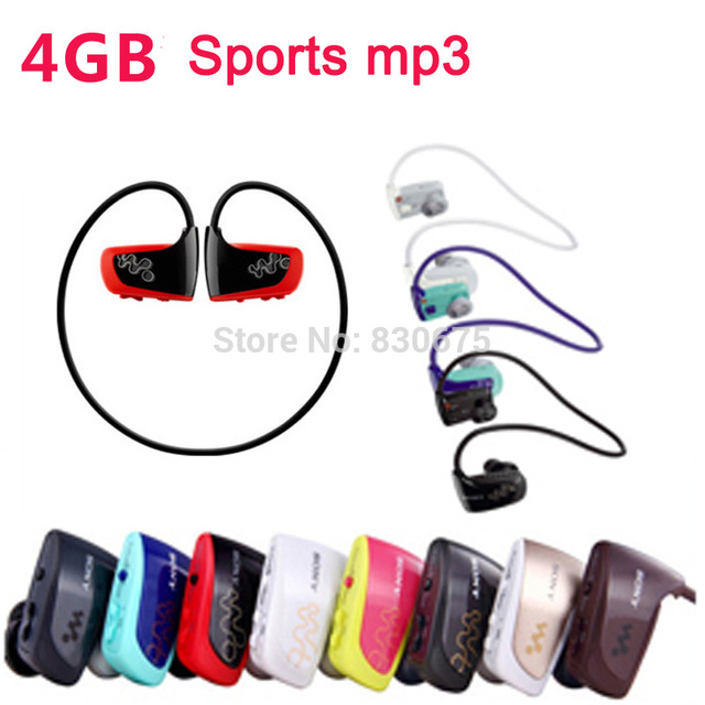 Novo Atacado 4 GB MP3 player venda quente Music Player Sports MP3 Walkman W séries NWZ-W262 com saco do presente livre grátis