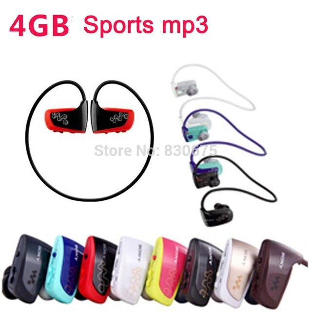 Nueva Venta Al Por Mayor 4 GB reproductor de MP3 de la venta caliente Reproductor de Música Se Divierte MP3 Walkman W series NWZ-W262 con bolsa de regalo gratis