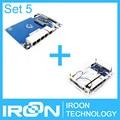 BPI-R1 Set 5: R1 Board + Clear Case. Banana PI R1 Smart Home Open-source Wireless Router BPI R1.