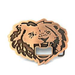 Ковбои Запада пряжки ремня голова тигра с открывалкой для бутылок мульти-функциональный Пояс Пряжка для 4,0
