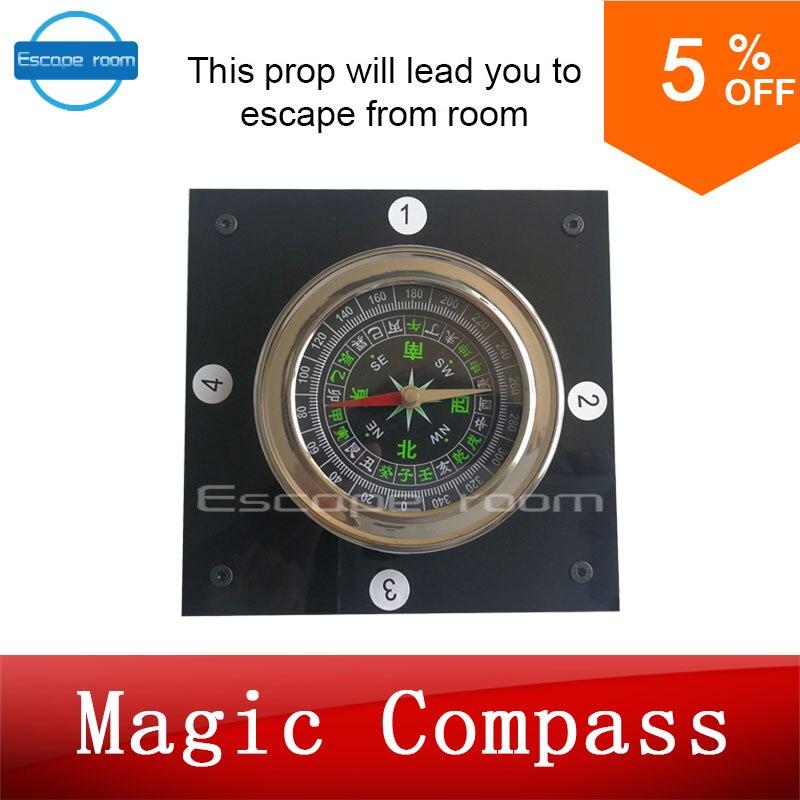 Boussole magique aventurier évasion chambre dispositif de jeu prop forTakagism obtenir des indices cachés via boussole à manquer la vraie vie chambre évasion